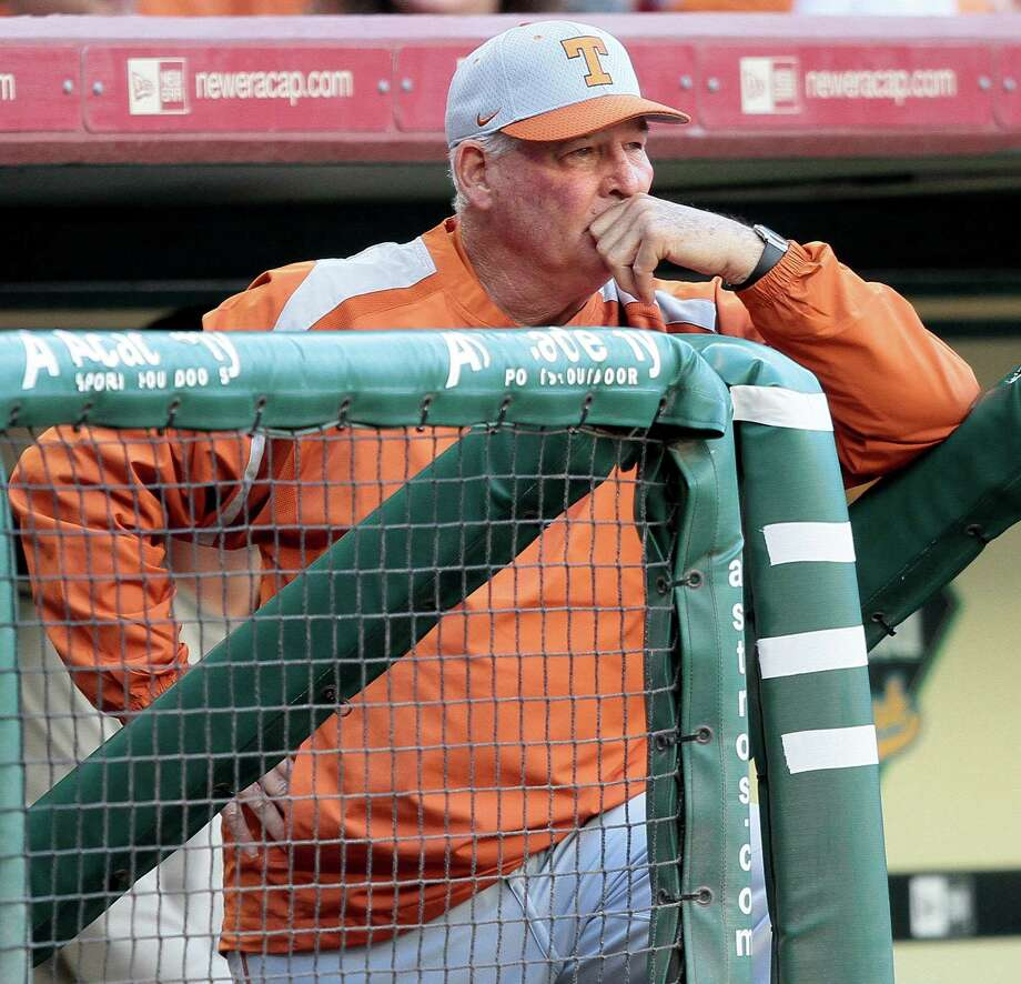 Augie Garrido would prefer spending a 19th season in the Longhorns' dugout in 2015. Photo: Bob Levey, Freelance / Freelance