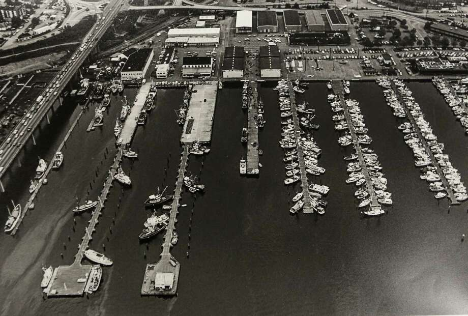 May 27, 1987 Aerial of Fishermen's Terminal. Photo: FILE PHOTO, SEATTLEPI.COM / SEATTLEPI.COM