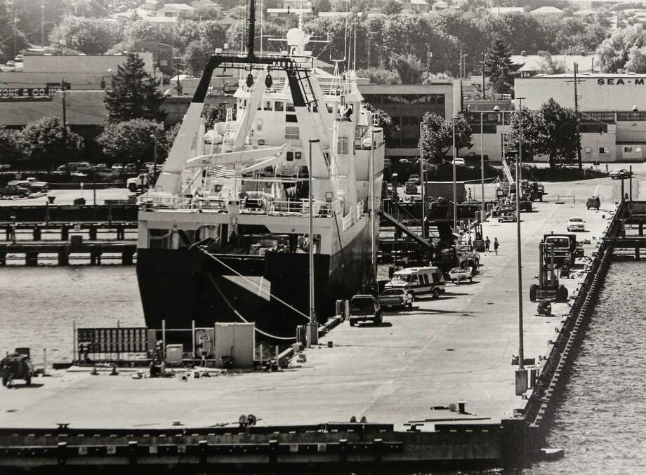 August, 23, 1988The factory trawler Pacific Glacier is shown in Ballard. Photo: FILE PHOTO, SEATTLEPI.COM / SEATTLEPI.COM