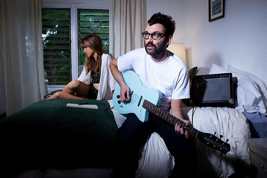"""Mark Oliver Everett, better known as E, has just released his 11th album as the front man of Eels. Its autobiographical character is apparent in its title, """"The Cautionary Tales of Mark Oliver Everett."""" Photo: The Eels"""