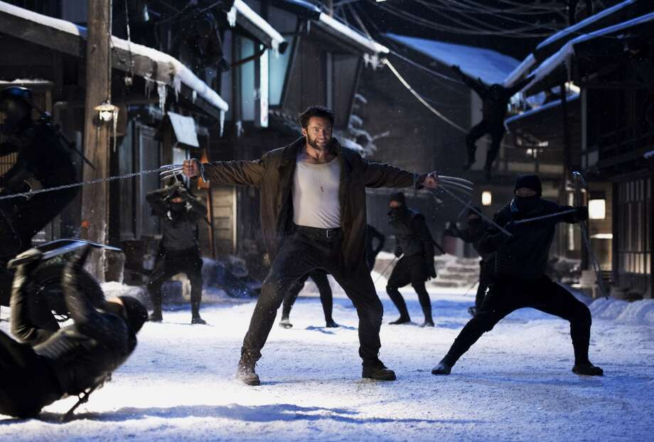 "20: THE WOLVERINE (2013): It didn't make us forget the atrociousness of ""X-Men Origins: Wolverine."" But it had that cool fight on the bullet train, ninjas and at least attempted to tell a coherent story. Photo: Ben Rothstein, Associated Press"