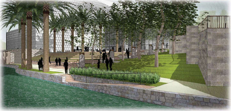 An outdoor LED screen is being proposed for the Tobin Center for the Performing Arts. Photo:  Bexar County Performing Arts Center Foundation, Courtesy