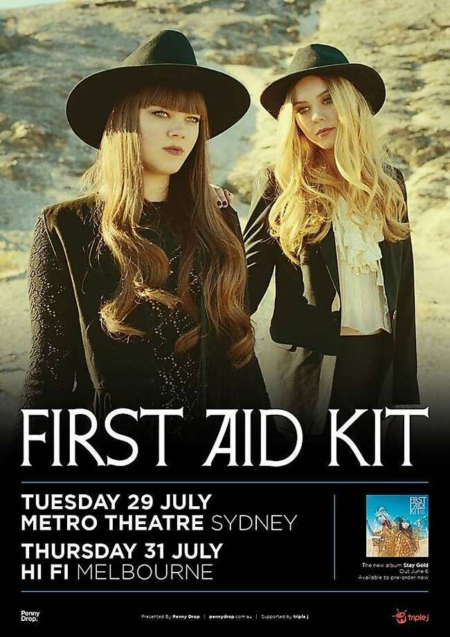 First Aid Kit, a Swedish folk duo. Klara Soderberg, left, and Johanna Soderberg Photo: Thisisfirstaidkit.com, Amazon.com