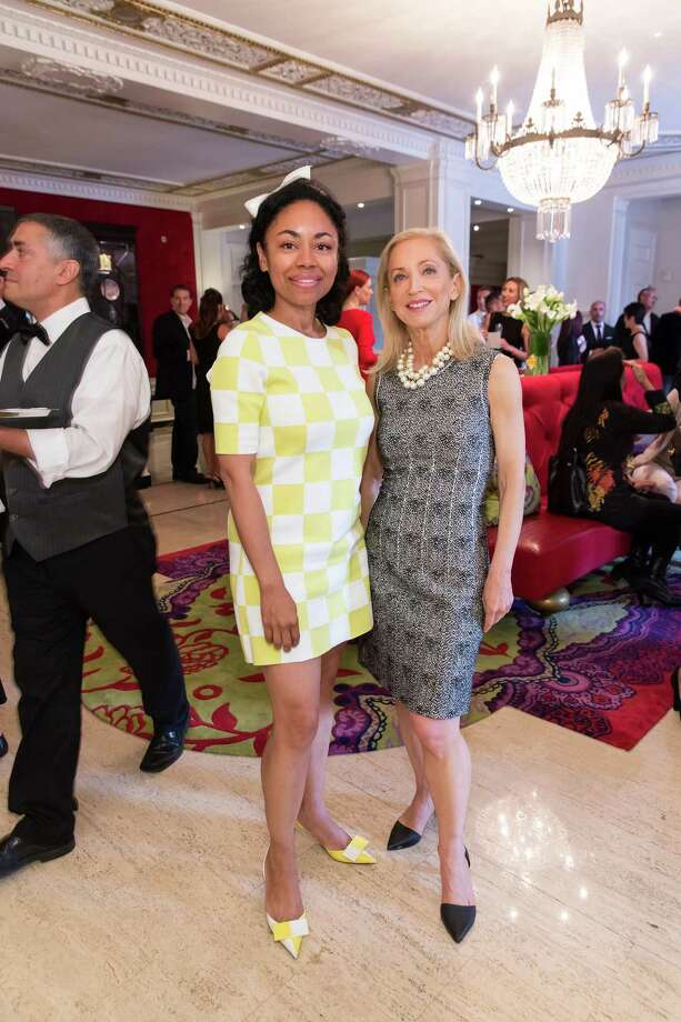 Tanya Powell and Shelley Gordon at the debut party of The Scarlet Huntington in San Francisco on May 22, 2014. Photo: Drew Altizer, Drew Altizer Photography / Drew Altizer Photography