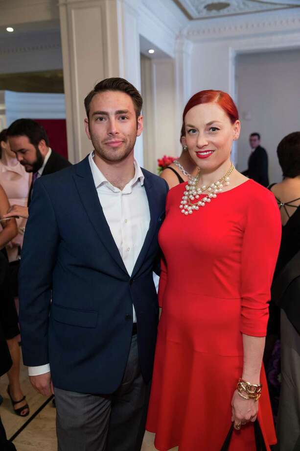 Jonathan Wisner and Katie Shreve at the debut party of The Scarlet Huntington in San Francisco on May 22, 2014. Photo: Drew Altizer, Drew Altizer Photography / Drew Altizer Photography