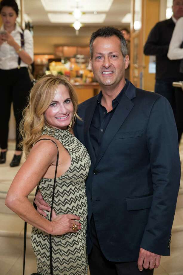 Robin Laub and Robert Destino at the debut party of The Scarlet Huntington in San Francisco on May 22, 2014. Photo: Drew Altizer, Drew Altizer Photography / Drew Altizer Photography