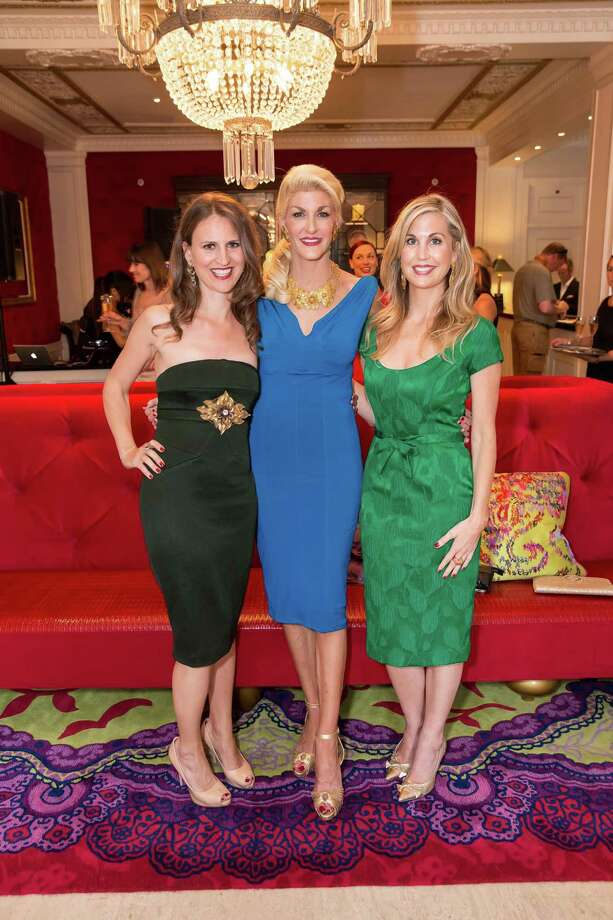 Jen Wade, Karen Caldwell and Heidi Pettit at the debut party of The Scarlet Huntington in San Francisco on May 22, 2014. Photo: Drew Altizer, Drew Altizer Photography / Drew Altizer Photography