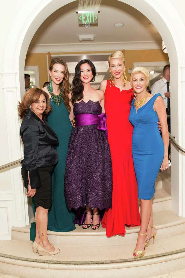 Ana Morales, Rachel Sitz, Judith Vargas and Karen Caldwell at the debut party of The Scarlet Huntington in San Francisco on May 22, 2014. Photo: Drew Altizer, Drew Altizer Photography / Drew Altizer Photography