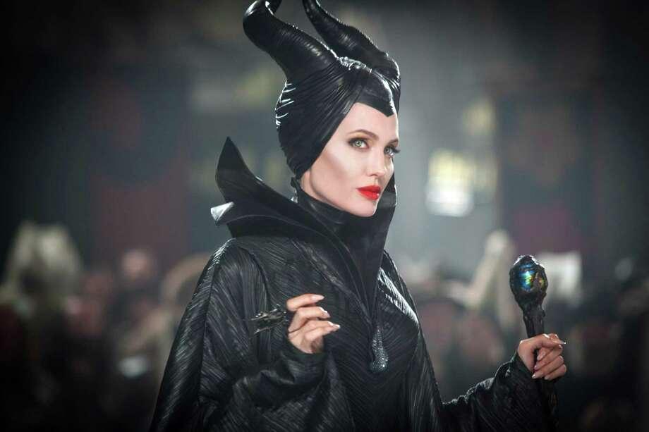 "Angelina Jolie stars in Disney's ""Maleficent."" (Disney Enterprises, Inc./MCT) Photo: HANDOUT, HO / MCT"