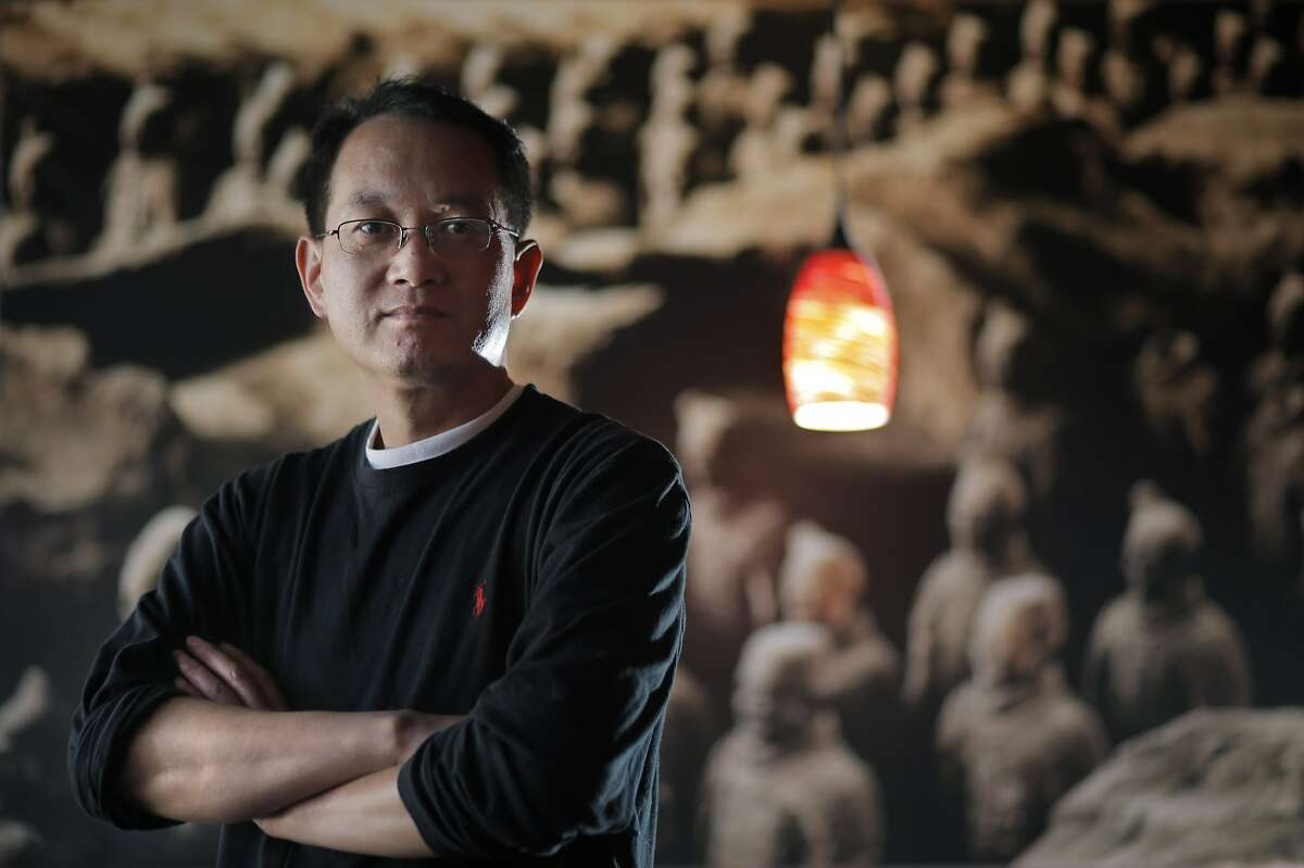 David Deng, the owner of Terra Cotta Warrior in San Francisco, Calif., which serves the food of the Shaanxi Province in China on Wednesday, May 28, 2014.