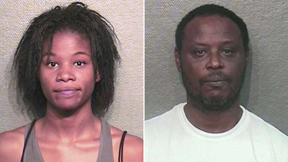 Ashley Nichole Richards, 23, was sentenced to 10 years in prison after she pleaded guilty to three counts of animal cruelty. Brent Wayne Justice, 52, of Houston, is also charged with animal cruelty for his participation in the case. Photo: Houston Police Department