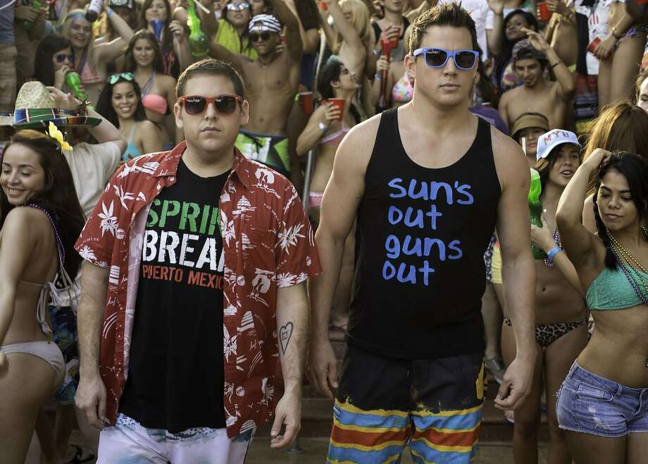 "Jonah Hill and Channing Tatum in ""22 Jump Street"" Photo: Glen Wilson, Columbia Pictures"