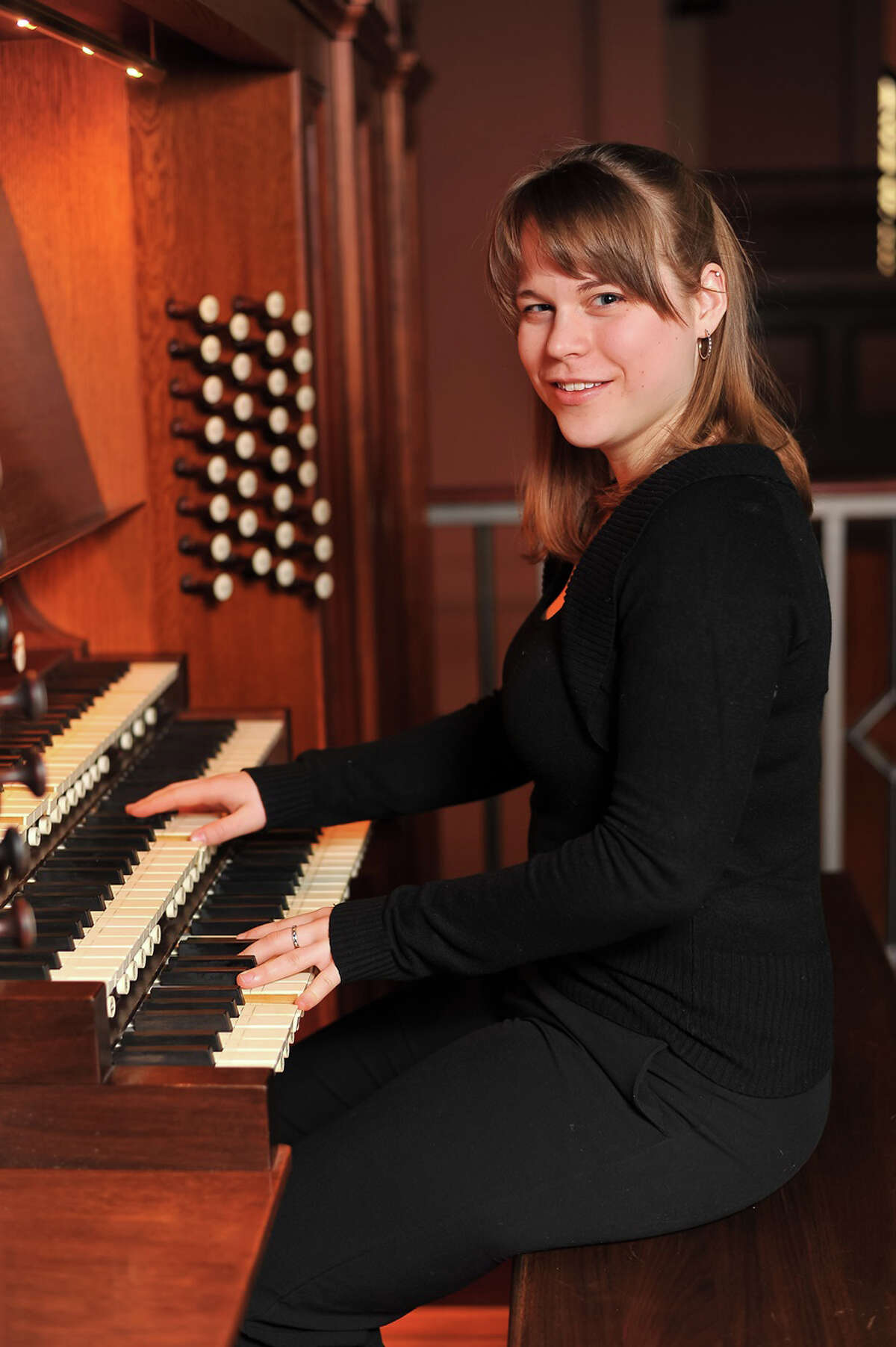 Katelyn Emerson, winner of the 2013 M. Louise Milerl Scholarhip in organ studies, will perform a short recital program on the recently restored pipe organ at the Cathedral of Saint Augustine in Bridgeport. The concert is Sunday, June 8, at 4 p.m.