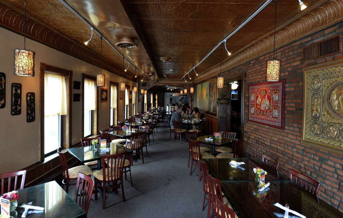 Interior view of the Thai Thai Bistro Thursday afternoon, May 22, 2014, on State Street in Schenectady, N.Y. (Skip Dickstein / Times Union)