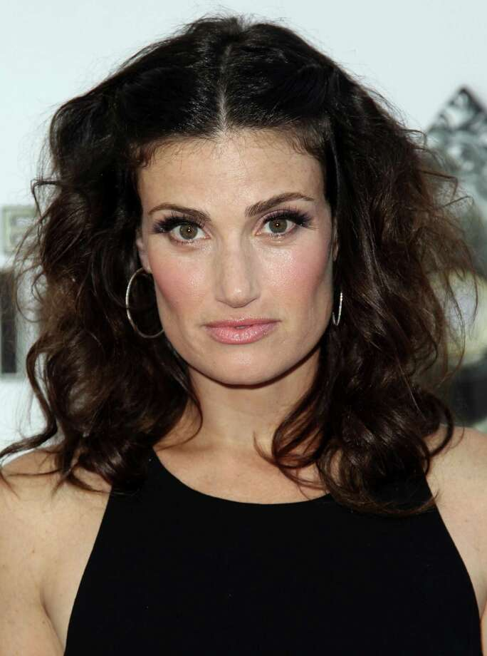 "FILE - This Sept. 12, 2012 file photo shows Idina Menzel at the West Coast premiere of ""The Book of Mormon"" at the Pantages Theatre in Los Angeles. Menzel will return to Broadway since winning the Tony Award for ""Wicked"" to star in ""If/Then,"" an original Broadway musical. The production will begin previews on Broadway on March 4, 2014 and will officially open on March 27, 2014.  (Photo by Matt Sayles/Invision/AP, file) Photo: Matt Sayles / Invision"