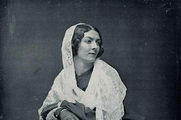 A daguerreotype of Lola Montez, 1851.
