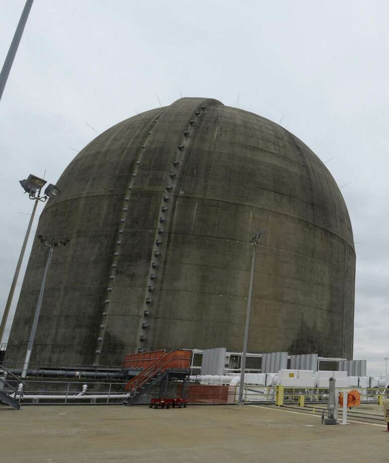 This is the South Texas Project electric generating station near Bay City. The state is now examining the possibility of creating a high-level nuclear waste dump. The idea raises environmental concerns. Photo: Express-News File Photo / San Antonio Express-News
