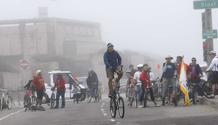 June 8, Sunday Streets: The Great Highway will be shut down to traffic all afternoon, so bikers, rollerskaters, walkers and other non-car types can meander along the road, take in the beach views and possibly brave the fog. Website. Photo: Lacy Atkins, The Chronicle