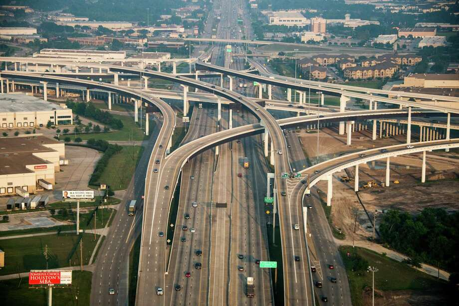 Traffic on U.S. 290 at Beltway 8 on Friday, May 17, 2013, in Houston. ( Smiley N. Pool / Houston Chronicle ) Photo: Smiley N. Pool, Staff / © 2013  Houston Chronicle