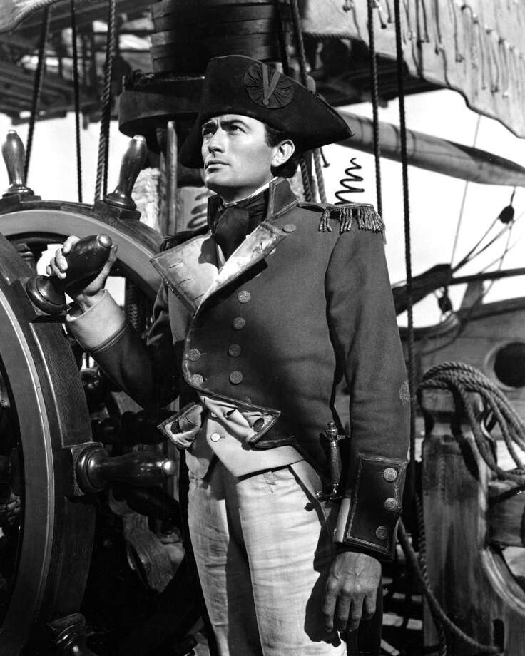 Gregory Peck plays the titular naval officer in 'Captain Horatio Hornblower R.N.', 1951. Photo: Silver Screen Collection, Getty / 2007 Getty Images
