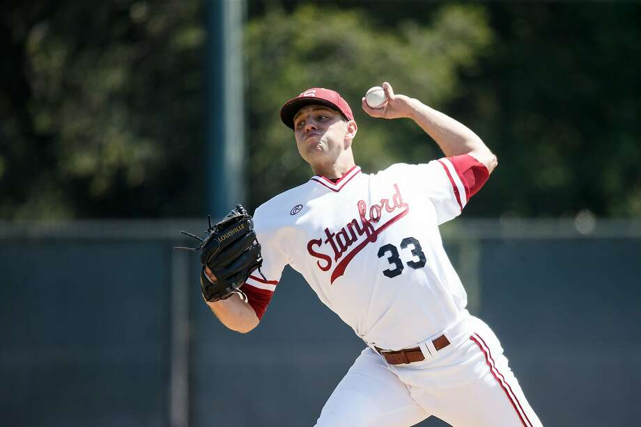 Junior left-hander John Hochstatter, who began the season in Stanford's bullpen, moved to the rotation and won seven consecutive decisions. Photo:  Bob Drebin / StanfordPhoto.com