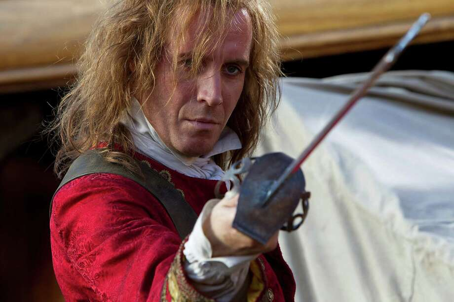 Rhys Ifans as Jimmy Hook in the TV mini-series, Neverland (2011) Photo: Patrick Redmond, Getty / © NBCUniversal, Inc.