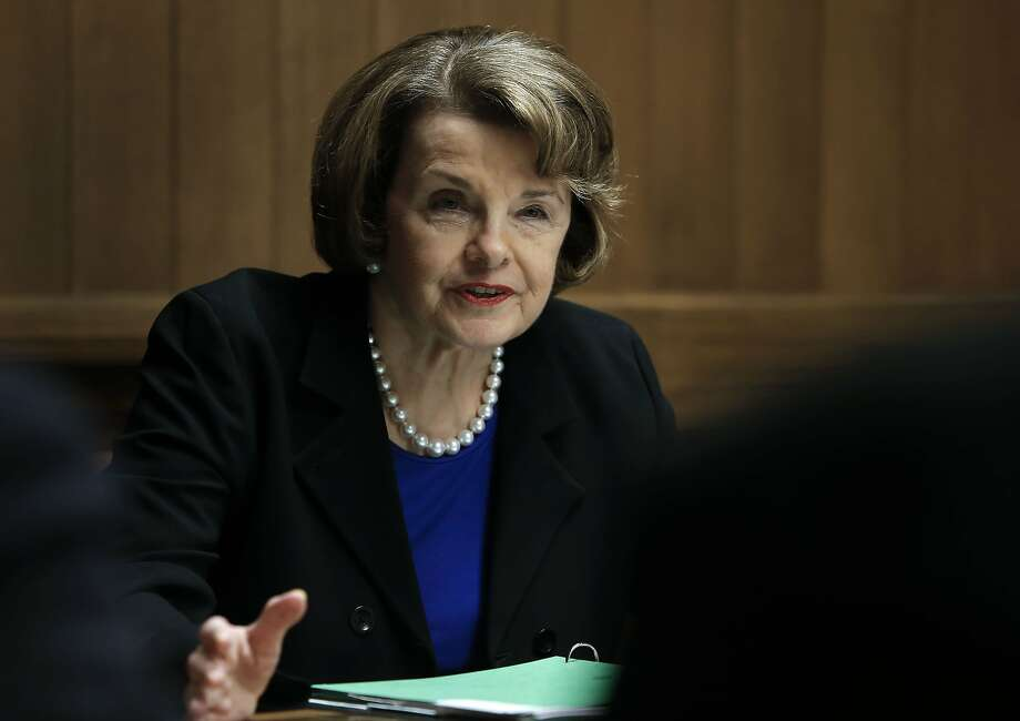 California Senator Dianne Feinstein speaks with the San Francisco Chronicle editorial board on Thursday May 29, 2014, in San Francisco, Calif. Photo: Michael Macor, The Chronicle
