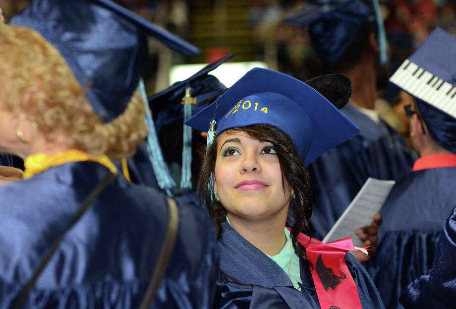 Housatonic Community College's 47th commencement at Webster Bank Arena in Bridgeport on May 29, 2014. Photo: Amy Mortensen / Connecticut Post Freelance
