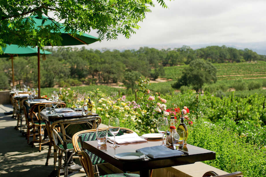 Rustic, Francis' Favorites in Geyserville offers scenic vineyard views. Photo: Courtesy OpenTable