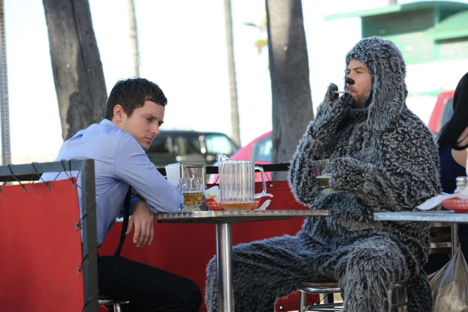 """""""Wilfred: Season 3"""" (2013)– This offbeat comedy follows the experiences of a depressed man who becomes convinced that his neighbor's dog is actually a man wearing a costume. Available June 17"""