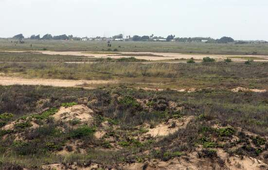 The proposed site for SpaceX spaceport with the Kopernik Shores neighborhood in the distance near Boca Chica Beach Tuesday, June 19, 2012, in Brownsville.  ( James Nielsen / Chronicle ) Photo: Houston Chronicle