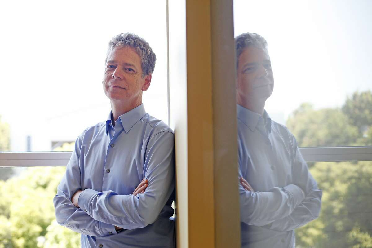 Paul Reiche, Studio President and Creative Director of Toys for Bob, poses for portraits at his company's headquarters on May 28, 2014 in Novato, Calif. Toys for Bob is the studio behind the hugely successful Skylanders hybrid toy-video game series.