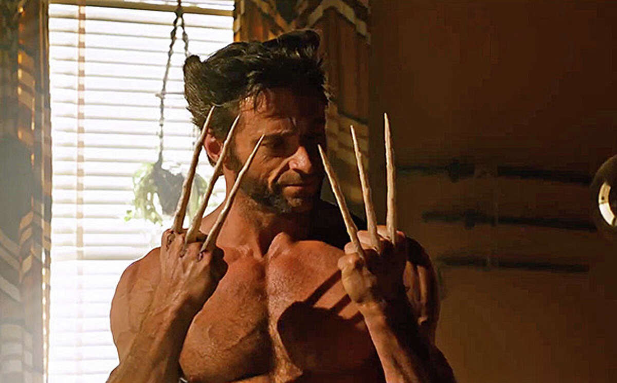 """Hugh Jackman stars as the sharp-fingered Wolverine in the new """"X-Men: Days of Future Past."""""""