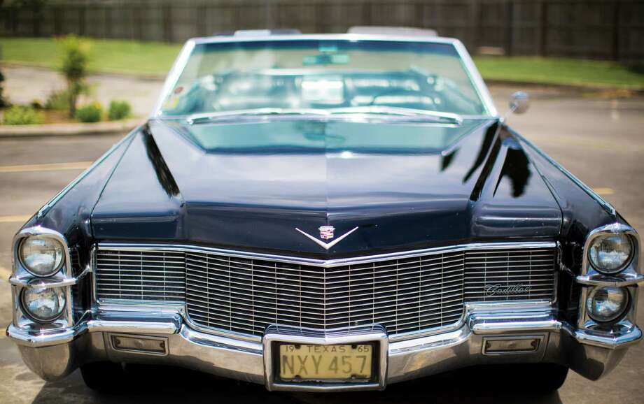 "Bill  Golasinski calls his 1965 Cadillac de Ville G2 Series convertible ""really fun.""  Despite  that,  convertibles have lost market share to other vehicles over the last five years. Photo: Marie D. De Jesus, Staff / © 2014 Houston Chronicle"