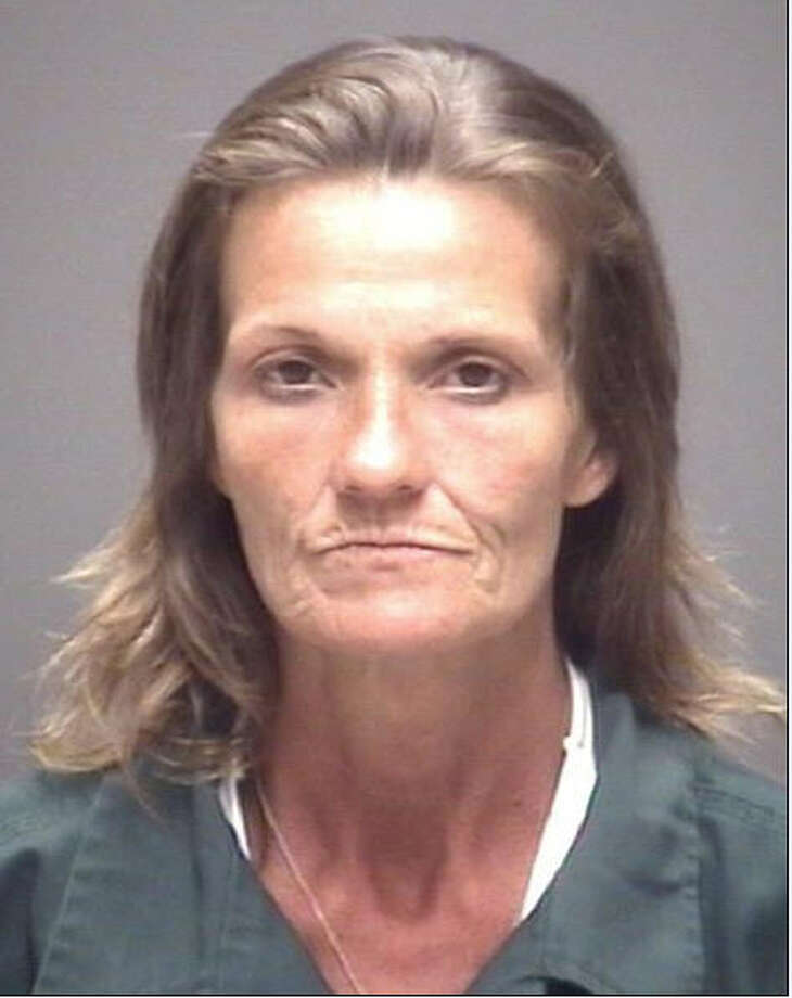 Lisa Simmons, 51, is charged with enhanced felony prostitution, May 30, 2014. Photo: Galveston Police Department