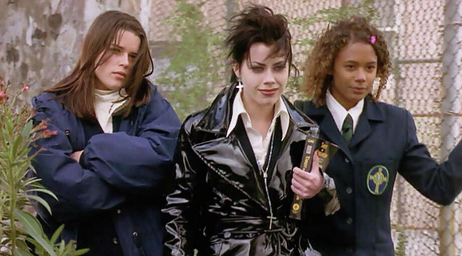 """""""The Craft"""" (1996)– Robin Tunney stars in this supernatural thriller as Sarah Bailey, a Catholic school newcomer who falls in with a clique of teen witches who wield their powers against all who dare to cross them -- be they teachers, rivals or meddlesome parents. Available June 1 Photo: Netflix"""