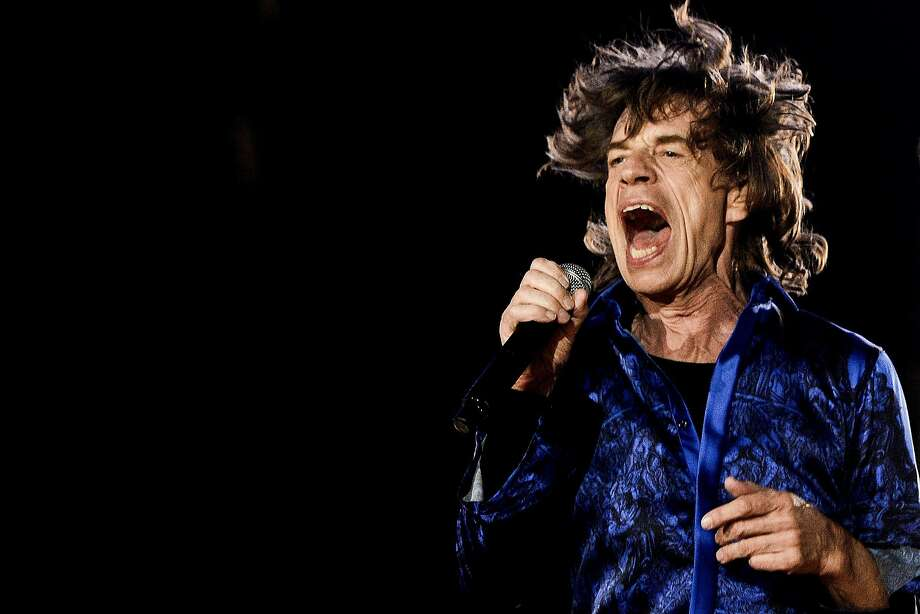 Hey! You! Get off of my lawn: Seventy-something Mick Jagger performs at the Rock in the Rio Lisboa music festival at 