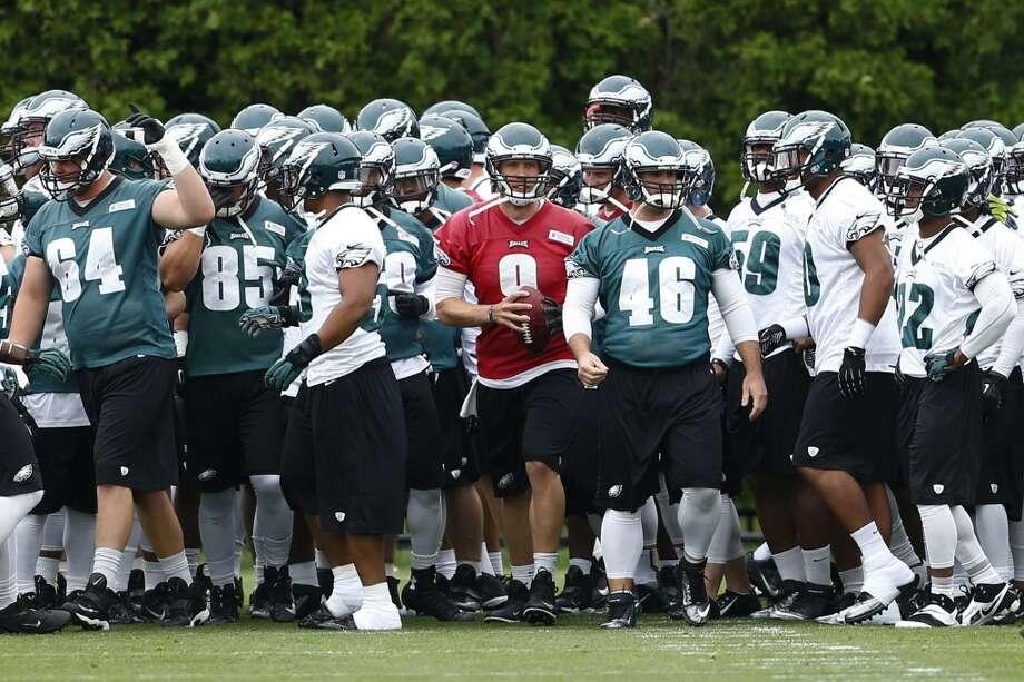 Philadelphia Eagles  Win total: 9 games Over(EVEN)/Under(-130) Photo: Matt Rourke, Associated Press