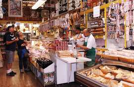 1. Molinari Delicatessen 373 Columbus Ave.: Step up to the counter of Molinari's, established in 1896, where its namesake salami dangles above the clerks creating made-to-order sandwiches like the Renzo Special, stacked with prosciutto, coppa, fresh mozzarella and sundried tomatoes. Nose over the cheese case stocked with Auricchio provolone and others or pick up some fresh tortellinis. (415) 421-2337.