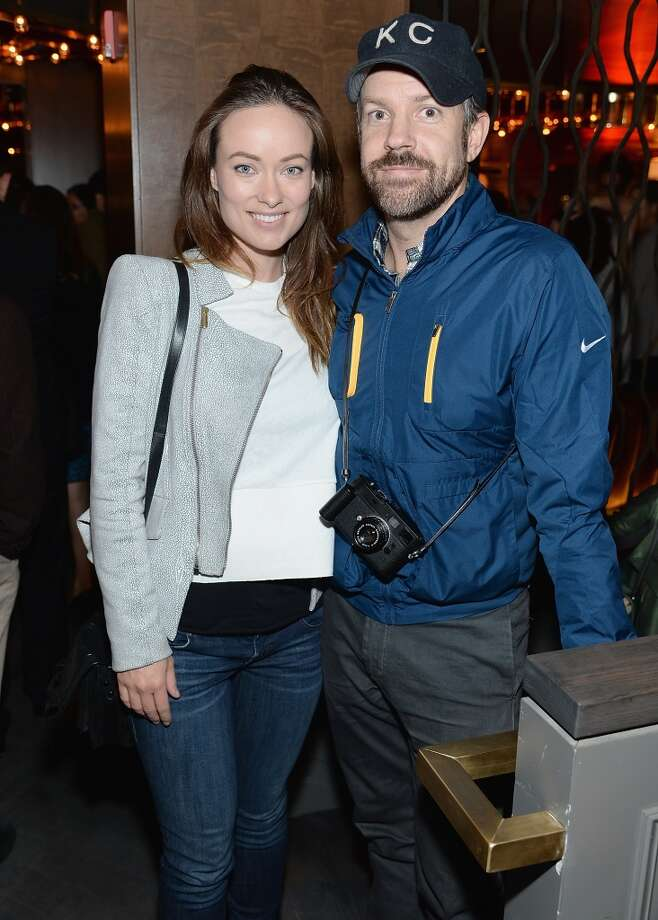 "Olivia Wilde and Jason Sudeikis attend the ""Supermensch: The Legend Of Shep Gordon"" screening at The Wayfarer on May 29, 2014 in New York City. Photo: Dimitrios Kambouris, Getty Images"