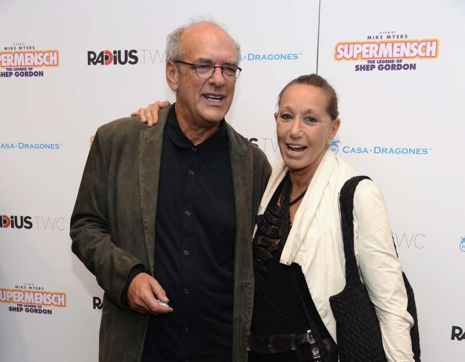 "Producer Shep Gordon and designer Donna Karan attend the ""Supermensch: The Legend Of Shep Gordon"" screening at The Museum of Modern Art on May 29, 2014 in New York City. Photo: Dimitrios Kambouris, Getty Images"