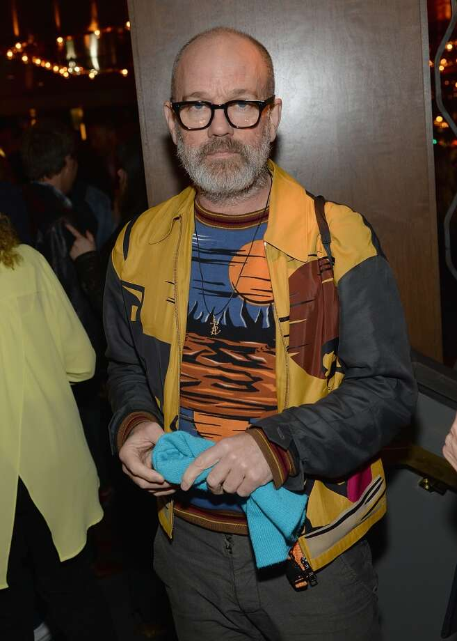 "Michael Stipe attends the ""Supermensch: The Legend Of Shep Gordon"" screening at The Wayfarer on May 29, 2014 in New York City. Photo: Dimitrios Kambouris, Getty Images"