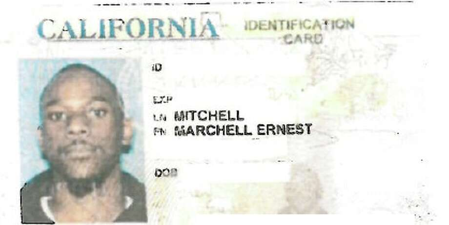 The redacted ID card of Oakland High School security guard Marchell Mitchell, 23. Mitchell was fired after allegedly handcuffing, punching and dumping a student out of his wheelchair. Photo: Oakland Unified School District, Courtesy
