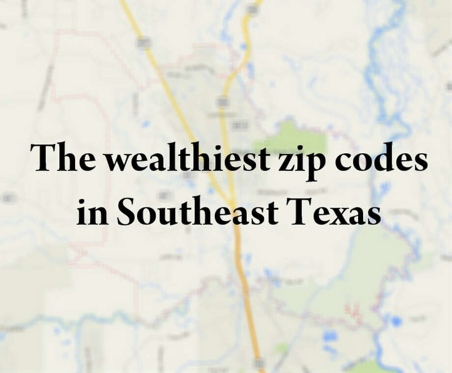 Using data provided by the U.S. Census Bureau's 2008-2012 American Fact Finder Survey, we compiled a list of the wealthiest zip codes in Southeast Texas. Click to see which zip codes made the cut.