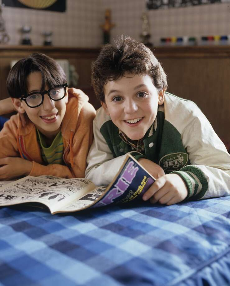 Josh Saviano (left) played Kevin Arnold's geeky best friend named Paul Joshua Pfieffer.