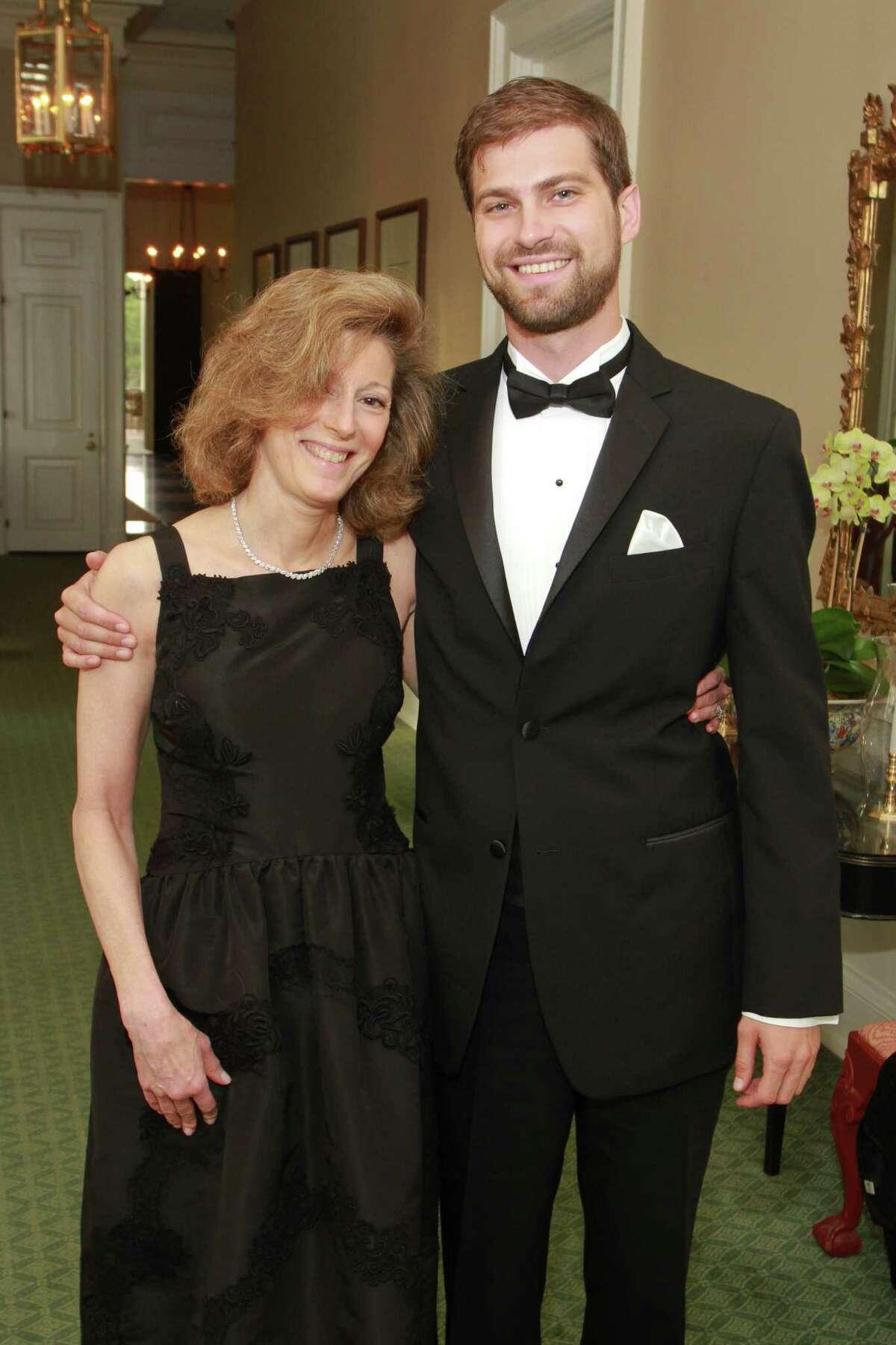Susan and John de Menil