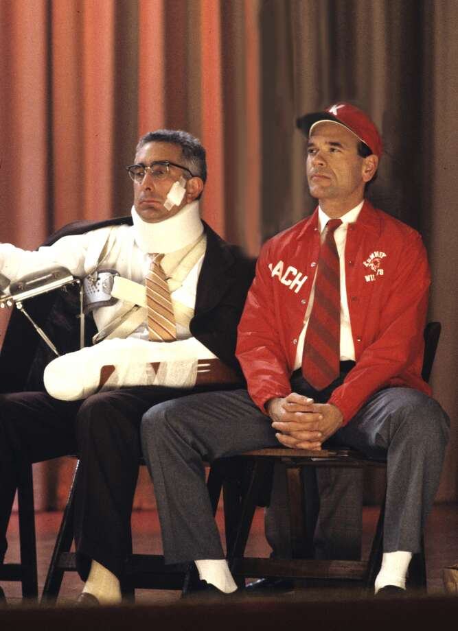 Ben Stein (left) played the character of Mr. Cantwell for 12 episodes during 1989-1991.