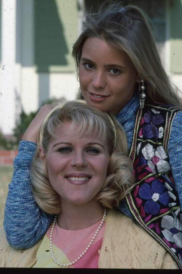Olivia d'Abo(top) played Kevin's sister Karen on 'The Wonder Years.'