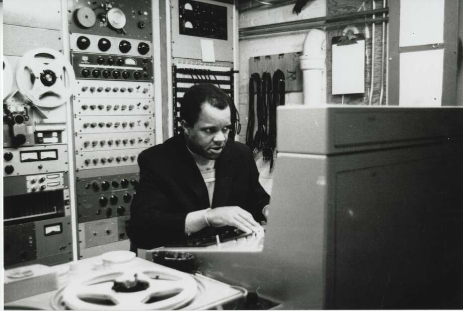Berry Gordy in the control room. Photo: SHN