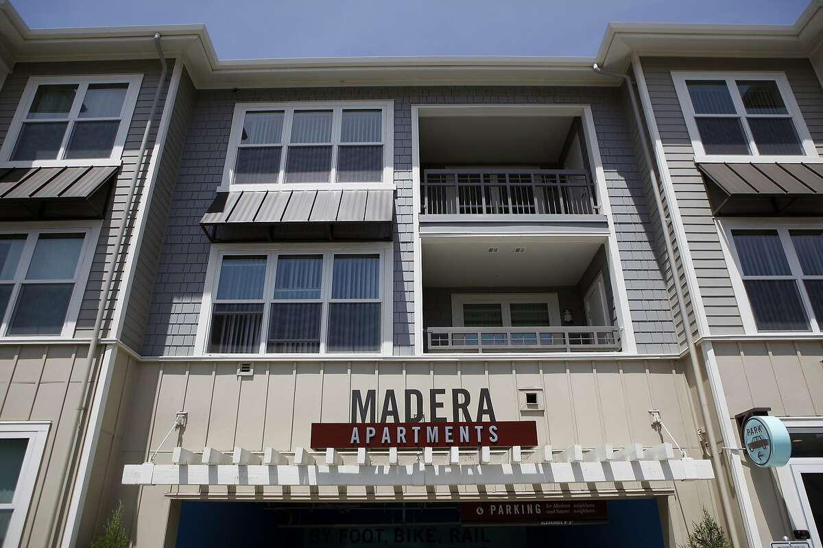 The recently built Madera Apartments are directly across the street from the Mountain View Cal Train station, in Mountain View, CA, Saturday May 24, 2014.